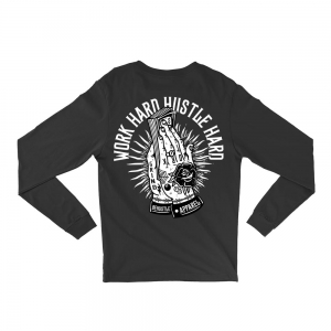 Longsleeve Work Hard Hustle Hard